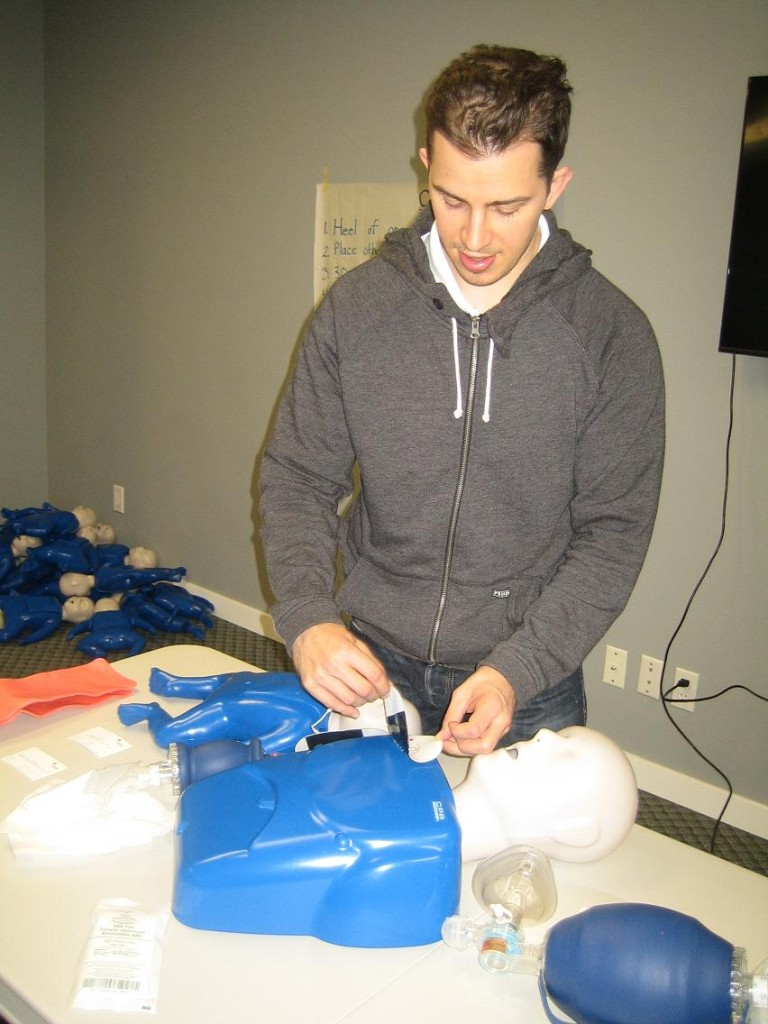 "Canadian Red Cross CPR level ""C"" and AED Re-Certifications in Red Deer"