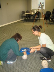 "St Mark James CPR ""HCP"" Re-certification in Red Deer, Alberta"