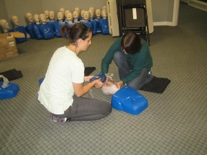 St Mark James first aid courses in Red Deer, Alberta
