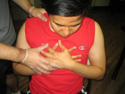 Chest Pain Caused by Upper Respiratory Tract Infections