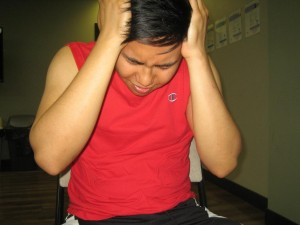 Exertion headache