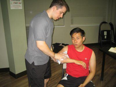 Elbow contusion